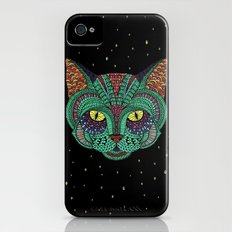 Intergalactic Cat Slim Case iPhone (4, 4s)