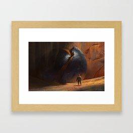 The Orb Framed Art Print