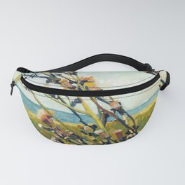 Thistles on the Beach Fanny Pack