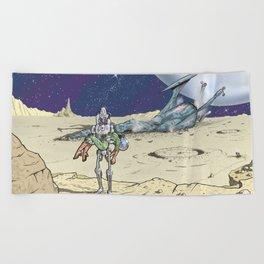 Steel Rescue Beach Towel