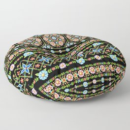 Millefiori Folkloric Stripe Floor Pillow