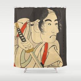 Sharaku #9 Shower Curtain