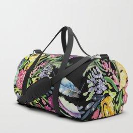Electric Blooms Duffle Bag