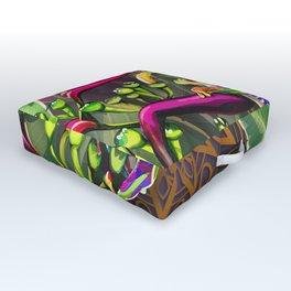 Red Eyed Tree Frog Outdoor Floor Cushion