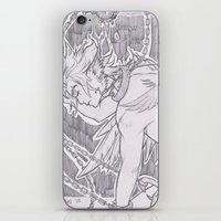 tyrion iPhone & iPod Skins featuring OC Tyrion  by Yrandiel