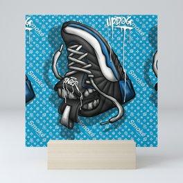 Sneaker Smoké Blue Royal Stain Mini Art Print