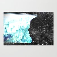 the fault in our stars Canvas Prints featuring The Fault in Our Stars by CATHERINE DONOHUE