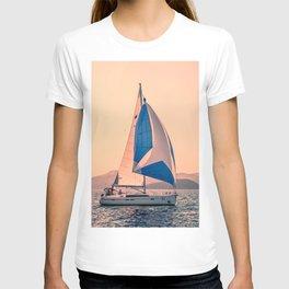 Yacht racing T-shirt