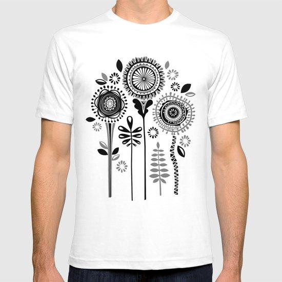 Folksy Flowerheads T-shirt