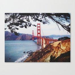 San Francisco - Golden Gate Bridge Canvas Print