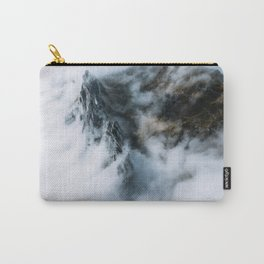 Moody Switzerland Mountain Peaks - Landscape Photography Carry-All Pouch