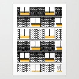 Hotel Montserrat -Detail- Art Print