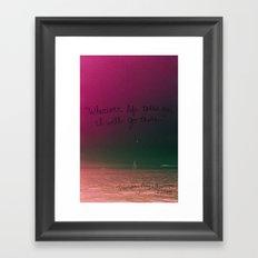 May 29 Framed Art Print