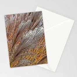 MISCANTHUS GRASS YAKU JIMA IN AUTUMN  Stationery Cards