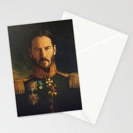 Keanu Reeves Stationery Cards