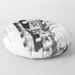 film BW Floor Pillow