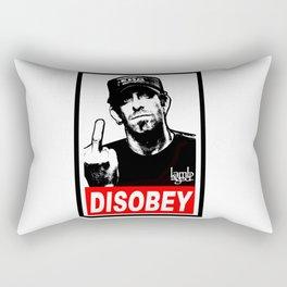 Disobey Randy Rectangular Pillow