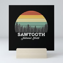 SAWTOOTH IDAHO Mini Art Print