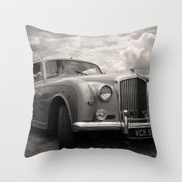 Classic Bentley Throw Pillow