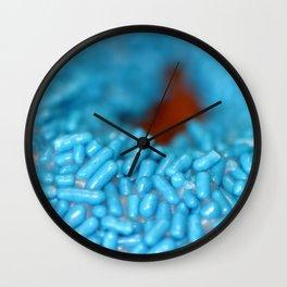 Donut Sprinkle Wall Clock