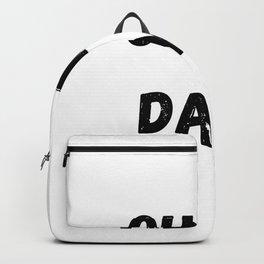 Oh my dayz black Backpack