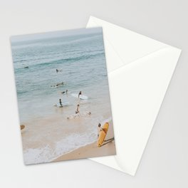 lets surf iii Stationery Cards