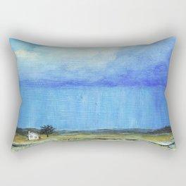 A Perfect Storm, Abstract Landscape Art Rectangular Pillow