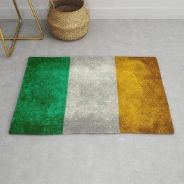 Flag of Ireland, Vintage retro style Rug