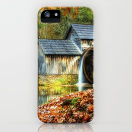 Autumn 2015 at Mabry Mill iPhone Case