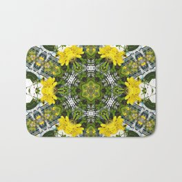Kaleidoscope of showy St Johns Wort Bath Mat
