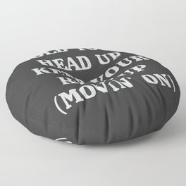 Hold your head up, a part of a huge 90s hit Floor Pillow