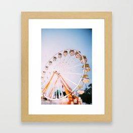 Ferris Wheel 4 Framed Art Print