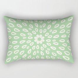 Mint sage seed design Rectangular Pillow