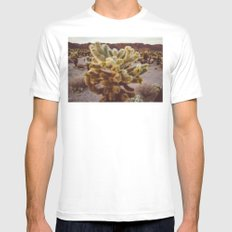 Cholla Cactus Garden XIV Mens Fitted Tee White MEDIUM