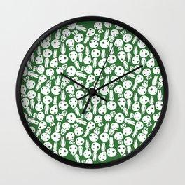 Hayao Miyazaki's Kodamas Wall Clock