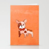 frenchie Stationery Cards featuring Frenchie by 52 Dogs