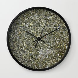 Pebble River Bed Wall Clock
