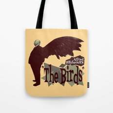 Alfred Hitchcock  |  The Birds Tote Bag