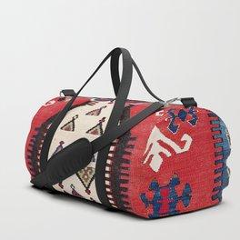 Aydinli Southwest Anatolian Niche Kilim Print Duffle Bag