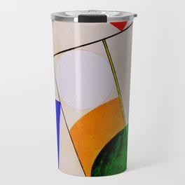Composition by Sophie Taeuber-Arp - Vintage Painting Travel Mug