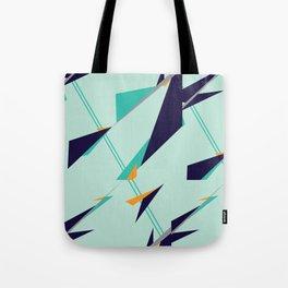 Geometric Zephyr Tote Bag