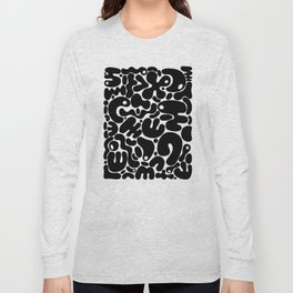 Blobs 004 Long Sleeve T-shirt