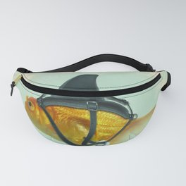 Brilliant DISGUISE - Goldfish with a Shark Fin Fanny Pack