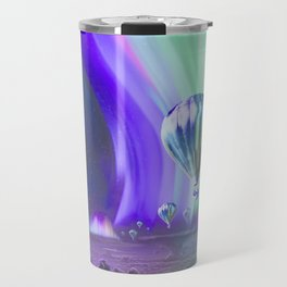 NASA Visions of the Future - Experience the Mighty Auroras of Jupiter Travel Mug