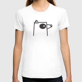 Minimalist Raccoon T-shirt