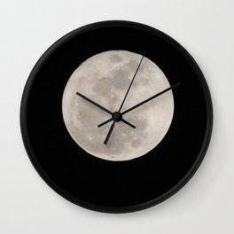 super moon Wall Clock