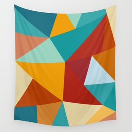 Abstract Geometric I Wall Tapestry