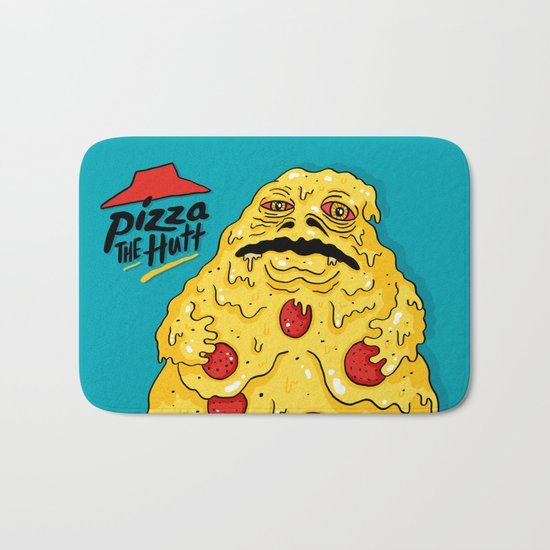 Pizza The Hutt Bath Mat
