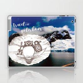 Travel with Polar Bear  Laptop & iPad Skin
