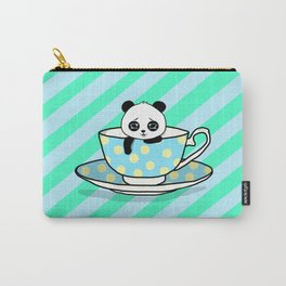 A Tired Panda Carry-All Pouch